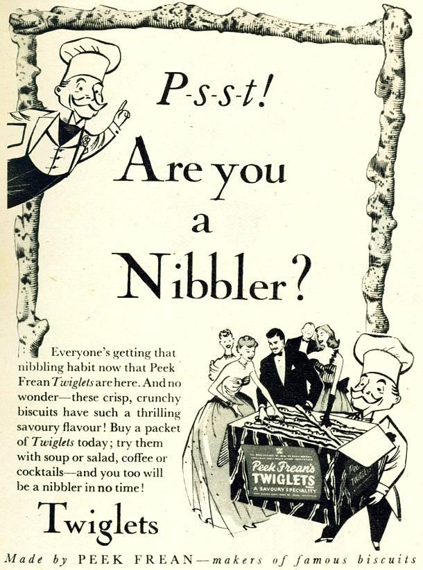 1930s Twiglets Advert